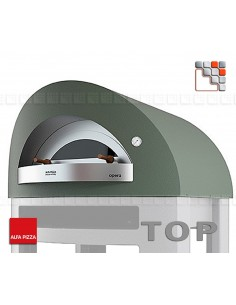 Four a Pizza OPERA Gaz 8 Alfa Pizza 402FOROPERA-GV ALFA PIZZA® Fours mobiles ALFA PIZZA