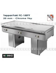 Teppanyaki CF-150/7 UniCrom Mainho