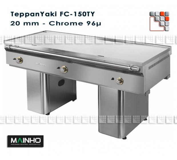 Teppanyaki FC-150/7 UniCrom Mainho