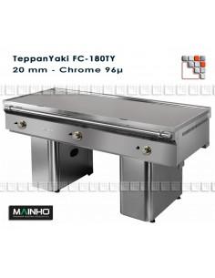 Teppanyaki FC-180/7 TY Mainho M04-FC180/7TY MAINHO® Fry-Tops MAINHO EURO-CROM Snack