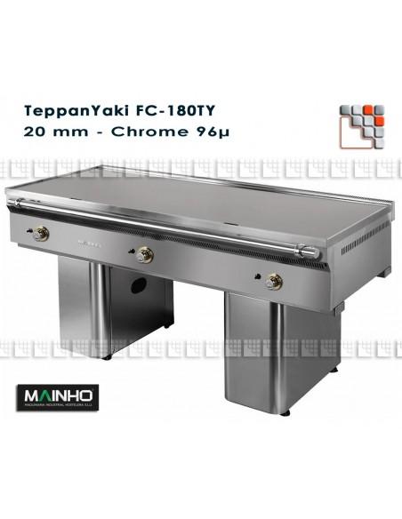 Teppanyaki FC-180/7 Full Chrom