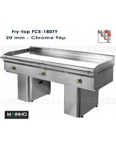 Fry-Top-FCE-180 7 400V UniCrom Mainho M04-FCE180/7 MAINHO® FryTops MAINHO EURO-CROM SNACK