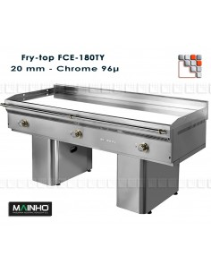 Fry-Top Electrique FCE-180/7 Unicrom Mainho