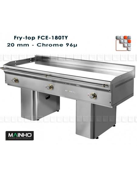 Fry-Top FCE-180/7 UniCrom MAINHO M04-FCE180/7 MAINHO® Fry-Tops MAINHO EURO-CROM Snack