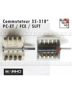 Commutateur 35-318C FCE/PC-ET/SLCP
