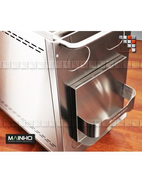 Bottle holder Stainless steel for trolley MAINHO M36-SB1 MAINHO SAV - Accessoires Mainho Spares