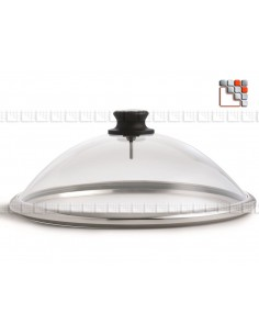 Cloche Vision Plus Special Plancha LOTUS GRILL L40-VV LOTUS GRILL® Ustensiles Special Cuisine Plancha
