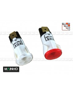 Led Indicator, 230V MAINHO M36-12F63 MAINHO SAV - Accessoires Electrical parts MAINHO