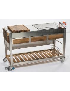 TomBoy Ultimo Unico Teak I24-130030008 INDU+® nv/sa Summer kitchen INDU+