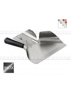 Pelle a Moules Inox 18/10 LACOR 504ACPMF A la Plancha® Ustensiles Special Cuisine Plancha
