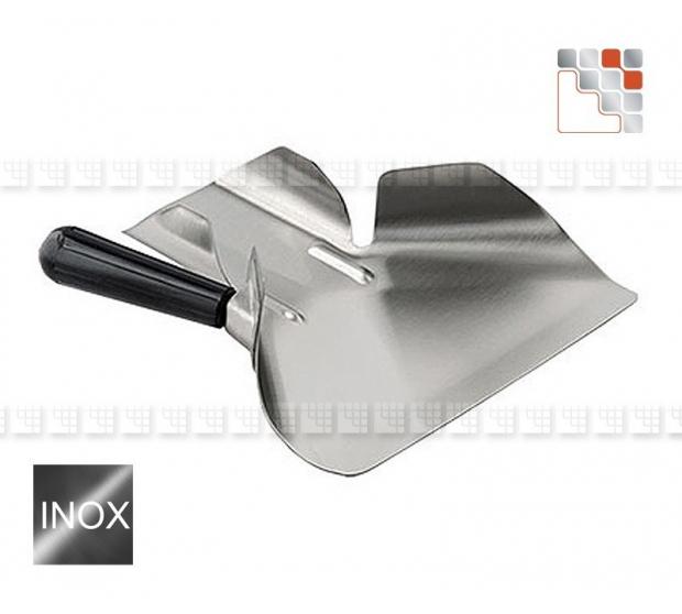 Shovel has Molds Stainless steel 18 10 LACOR A17-PMF A la Plancha® Couverts de Service