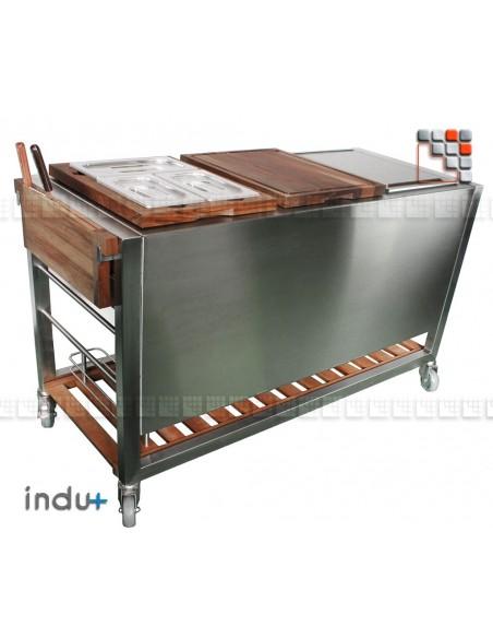 TomBoy Ultimo Teck I24-130030007 INDU+® nv/sa Cuisine d'été INDU+