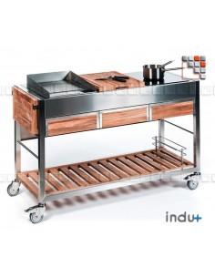 TomBoy Ultimo Teak I24-130030007 INDU+® nv/sa Summer kitchen INDU+