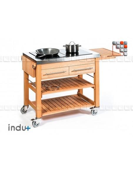 BeechBoy Duo T Trolley I24-130010292 INDU+® nv/sa Cuisine d'été INDU+