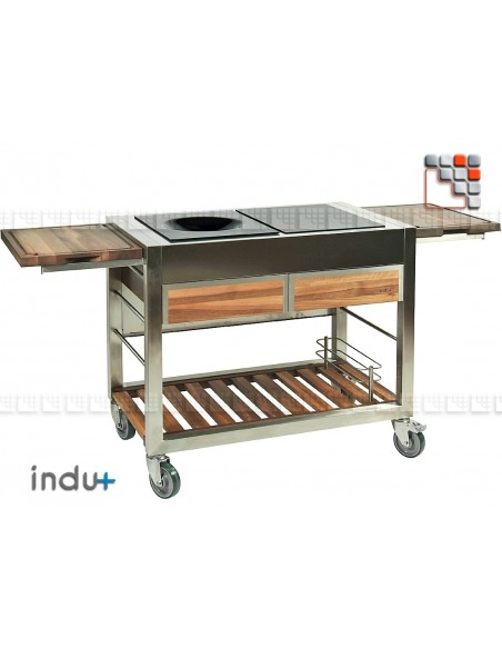 TomBoy Duo Teak Undue+ 304ID130030005 INDU+® nv/sa Cuisine d'été INDU+