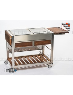 TomBoy Duo Teak Undue+ I24-130030005 INDU+® nv/sa Summer kitchen INDU+