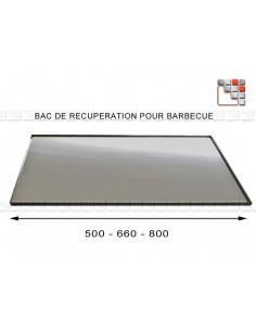 Steel tray recovery - Barbecue A17-T405 A la Plancha® Maintenance - Spare Parts