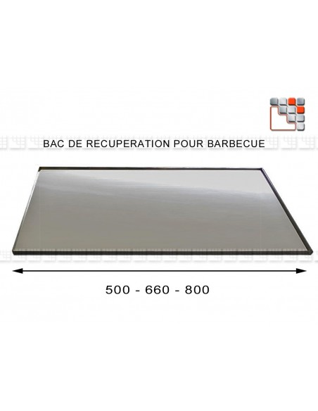 Steel tray recovery - Barbecue 602ACT405 A la Plancha® Maintenance - Spare Parts