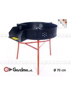 Trepieds Multifonctions 70 Garcima G05-41070  Bruleurs Gaz Paella Garcima