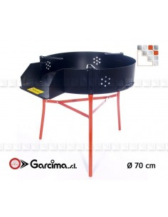 Trepieds Multifunction 70 Garcima G05-41070  Gas Burners Paella Garcima