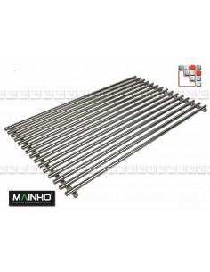 Grid Stainless steel for Arm Grill PBI MAINHO M36-GRL MAINHO SAV - Accessoires MAINHO Spares Parts Gas