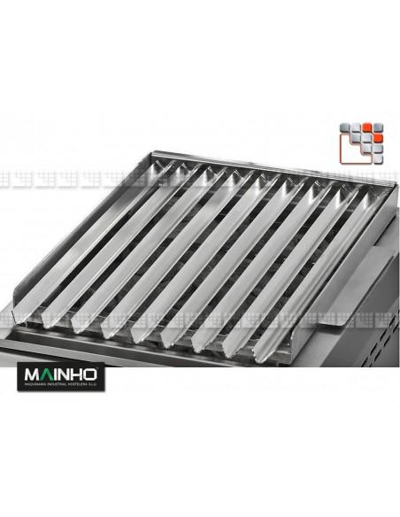 Stainless steel grid for Grill PB I MAINHO M36-GRL MAINHO SAV - Accessoires MAINHO Spares Parts Gas