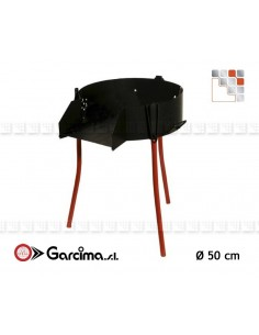 Garcima 50 Multifunction Tripods G05-41049  Gas Burners Paella Garcima