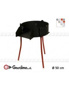 Trepieds Multi-Function 50 Garcima 203PL41049  Gas Burners Paella Garcima