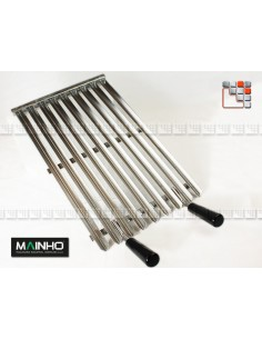 Grille Inox pour Vasca Grill Mainho