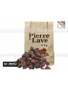 Pierre de Lave pour Grill et Barbecue A17-LV9  Barbecue Four et Accessoires