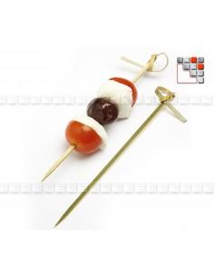 Piques dégustation Peones Tapas DM CREATION 504AC0015P dm CREATION® Art de la table