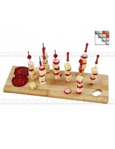 Planche de Présentation pour Piques et Brochettes DMCREATION D19-250 DM CREATION® Art de la table