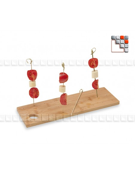 Board Presentation for Spikes and Skewers DM CREATION D19-250 DM CREATION® Table decoration