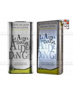 Huile d'Olive Vierge Extra - La Aldea de Don Gil A17-LADB5L A la Plancha® Spécialités du Terroir
