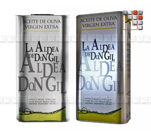 Extra Virgin Olive oil - La Aldea de Don Gil A17-LADB5L A la Plancha® Spices and Terroir Specialities