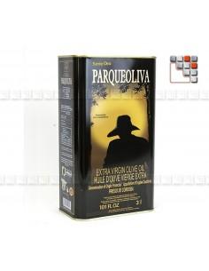 Huile d'Olive Vierge Extra - Parqueoliva Serie Oro A17-PADB5L A la Plancha® Spécialités du Terroir
