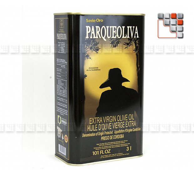 Extra Virgin Olive oil - Parqueoliva Serie Oro A17-PADB5L A la Plancha® Spices and Terroir Specialities