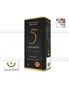 Extra-Virgin Olive oil 5 elements, Montes de Toledo A17-LA5E1L A la Plancha® Spices and Terroir Specialities