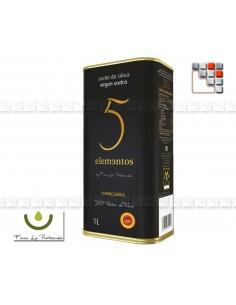 Huile d'Olive Extra Vierge 5 elements Montes de Toledo A17-LA5E1L A la Plancha® Spécialités du Terroir