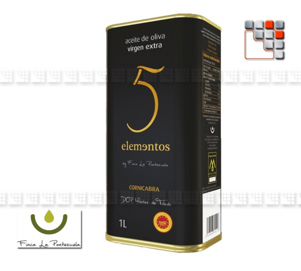 Huile d'Olive Extra Vierge 5 elements Montes de Toledo 801LA5E1L  Spécialités du Terroir