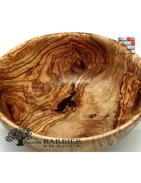 Bowl of Tapas in Olive Wood D12 LAURENT BARBIER B18-7020 LAURENT BARBIER France Table decoration