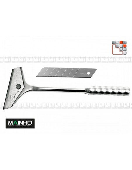 Stainless steel Hard Chrom Scraper MAINHO M36-ZC1 MAINHO SAV - Accessoires Kitchen Utensils