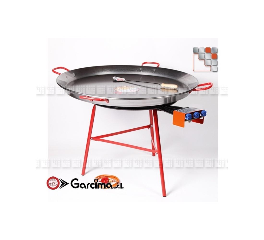 kit plat paella 100 acier emaillee garcima laideal. Black Bedroom Furniture Sets. Home Design Ideas
