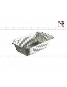 Barquette Aluminium Alimentaire Litre L10-CV  Housses & Protections