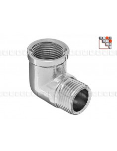 Gas Fitting & Elbow Supply 109MHZ12 MAINHO® Gas accessories