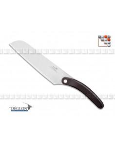 Couteau Santoku Premium 18 DEGLON 501N5914018-C DEGLON® Découpe