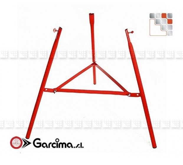 Trepieds Renforce 75 Garcima G05-40007  Ustensiles Paella Garcima