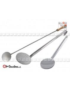 Beech Handle Stainless Steel Paella Spoon GARCIMA G46-30 GARCIMA La Ideal - Accessoires Ustensils Paella Garcima