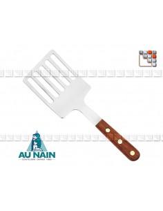 Server 5 Slots Rosewood Handle 25 AU NAIN A38-1340401 AU NAIN® Coutellerie Couverts de Service