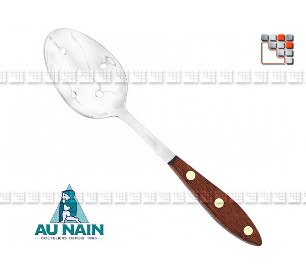 Cuillère à olives palissandre 26 AU NAIN 501N1340701 AU NAIN® Coutellerie Ustensiles de Cuisine